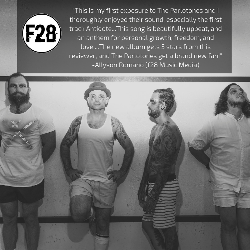 F28 Music Media Give The Parlotones 'China' 5 Stars in Latest Album Review