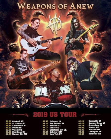 Weapons of Anew Joins Scott Stapp of Creed on his 'The Space Between the Shadows' US Tour
