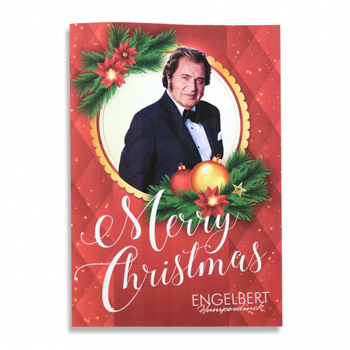 ENGELBERT HUMPERDINCK Merry Christmas Greeting Cards - Set of 4