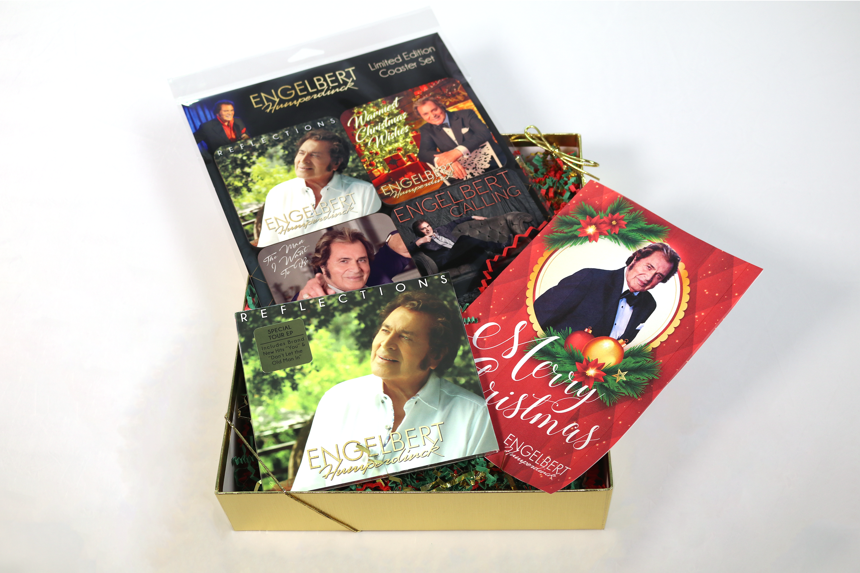 "New Engelbert Humperdinck ""Reflections Christmas Gift Set"" is now available!"