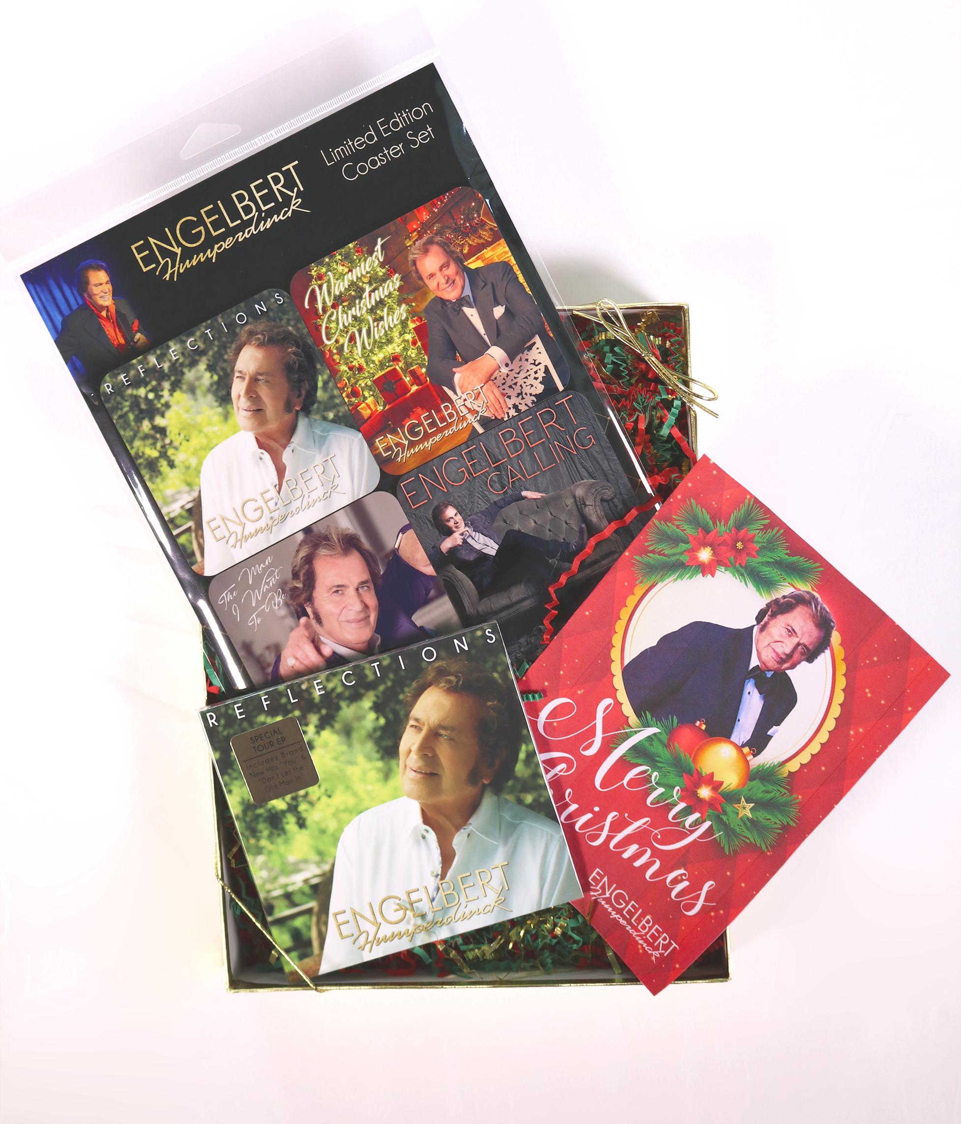Engelbert Humperdinck - Reflections Christmas Gift Set