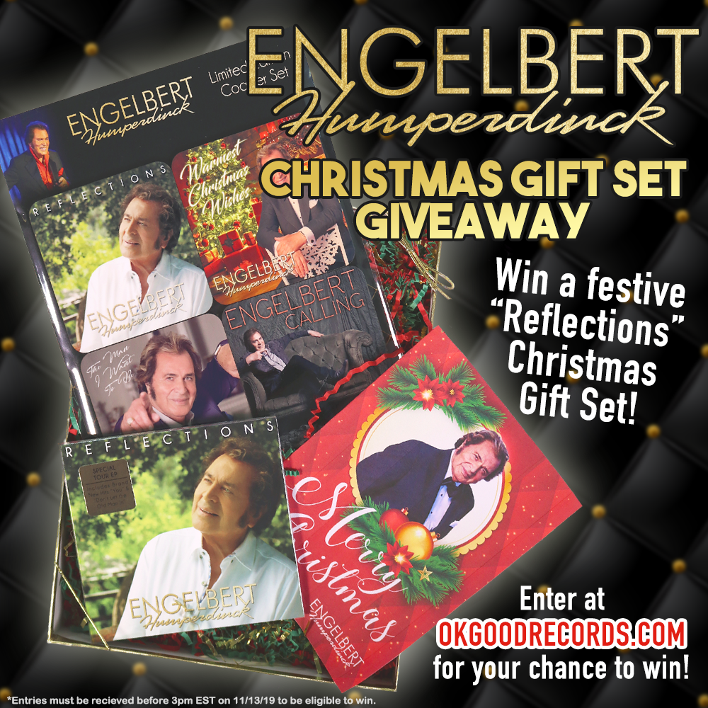 Win an Engelbert Humperdinck Reflections Christmas Gift Set Giveaway!