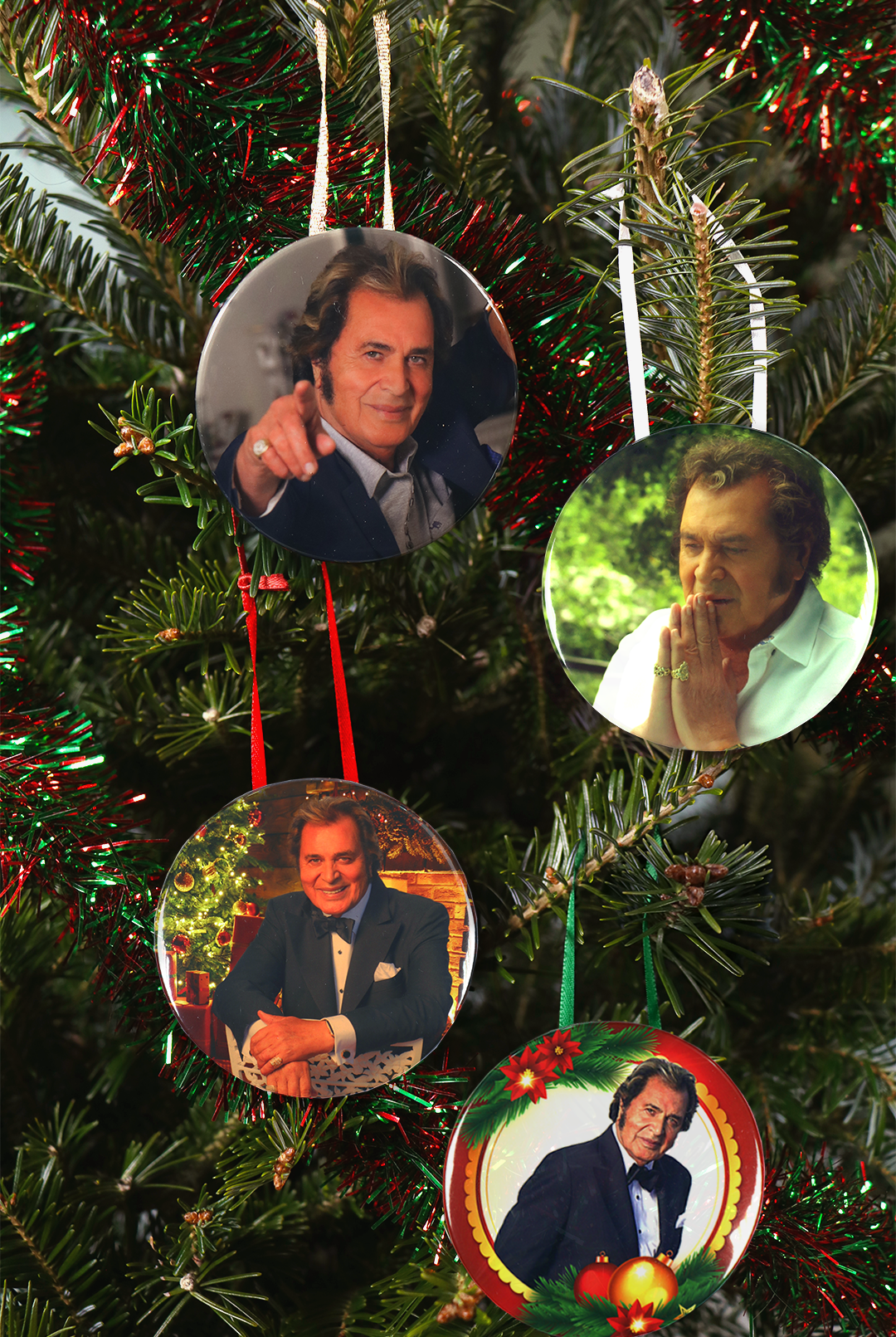 Win a Set of Four Engelbert Humperdinck Christmas Ornaments!