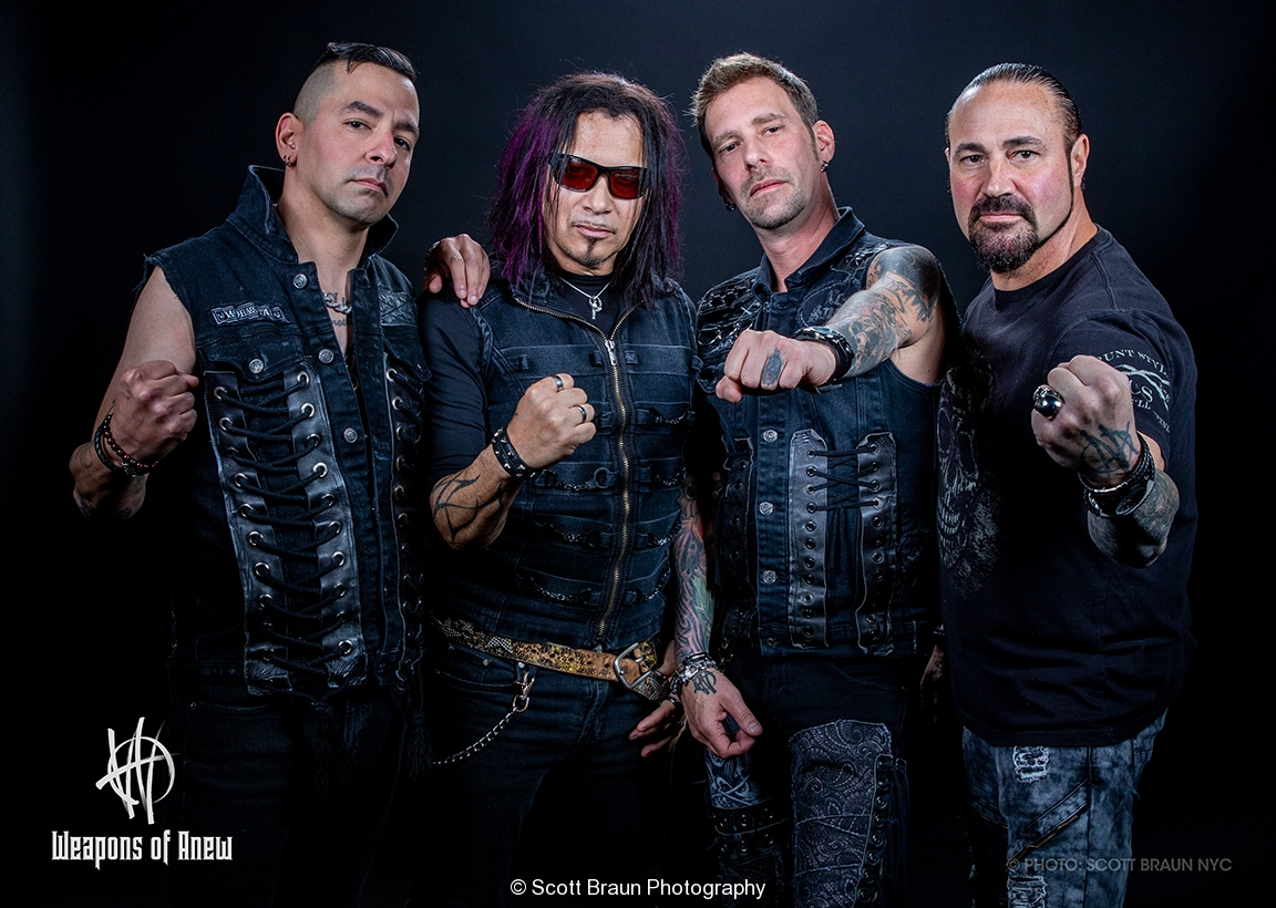 Weapons of Anew sits down with KNAC to talk about their 2019 Tour EP and their upcoming album