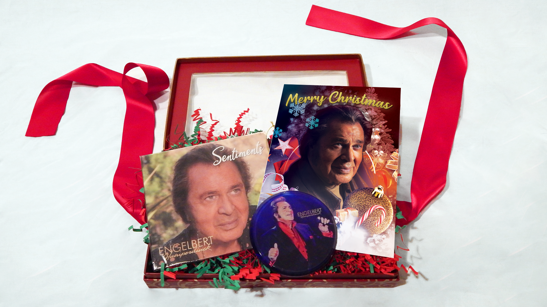 Engelbert Humperdinck Sentiments Christmas Gift Set
