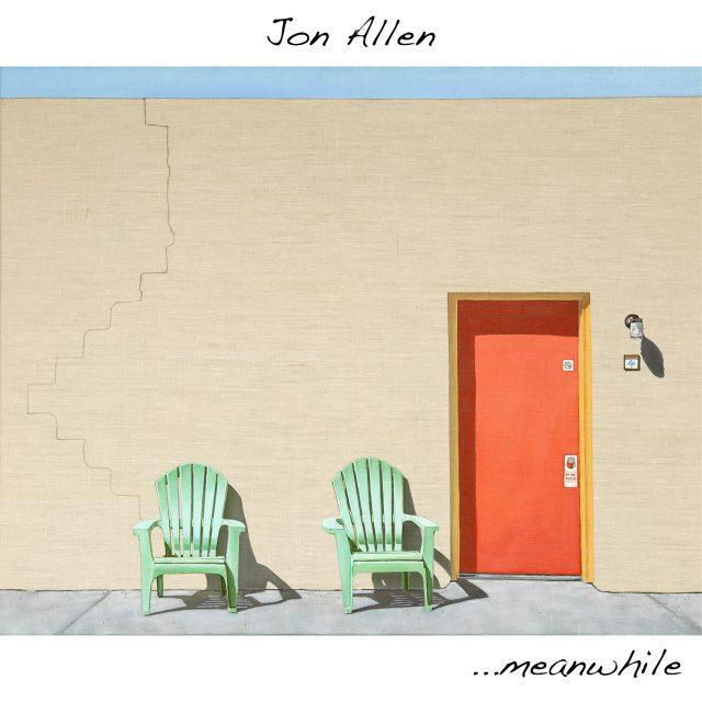 Jon Allen - ...meanwhile - Cover Art 1500